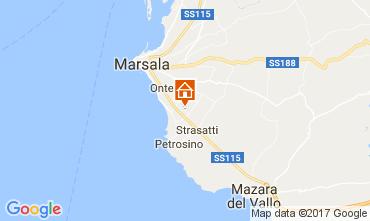 Map Marsala Apartment 112627