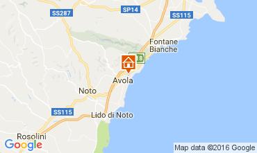 Map Avola Apartment 106736