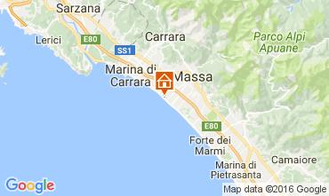 Map Marina di Massa Apartment 72407