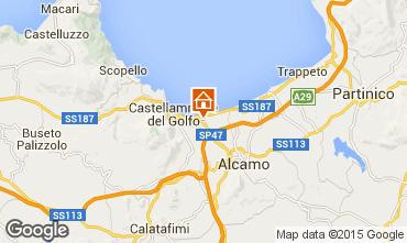 Map Castellammare del Golfo Villa 32448