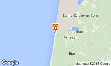 Map Mimizan Apartment 6527