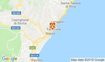 Map Taormina Apartment 89471