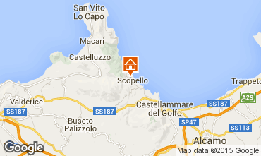 Map Scopello Villa 65215