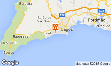 Map Praia da Luz One-room apartment 58019