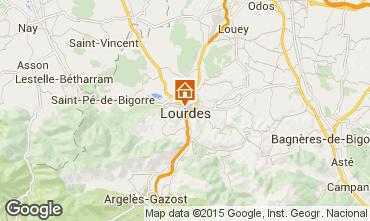 Map Lourdes Apartment 69336