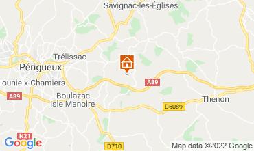 Map Périgueux Vacation rental 12391