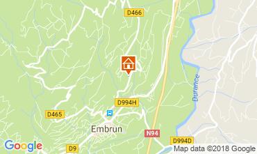 Map Embrun Apartment 113517