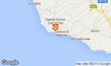 Map Marina di Ragusa Apartment 40914
