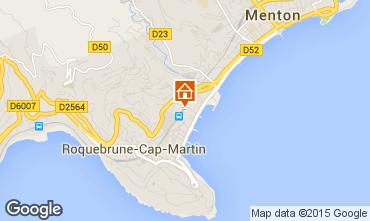 Map Roquebrune Cap Martin Apartment 56046