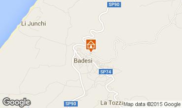 Map Badesi Apartment 92351