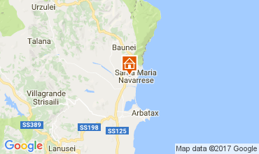 Map Santa Maria Navarrese Villa 110023