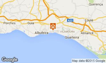 Map Albufeira Apartment 70471