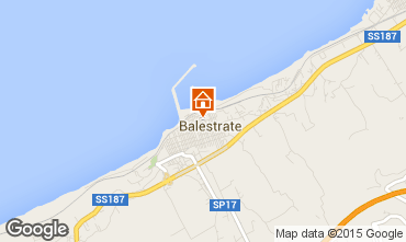 Map Balestrate Apartment 74004