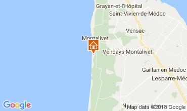 Map Vendays Montalivet Mobile home 111910