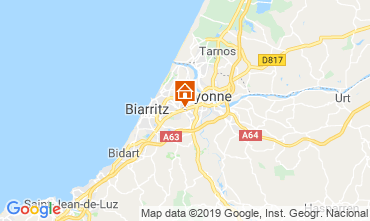 Map Biarritz One-room apartment 6356