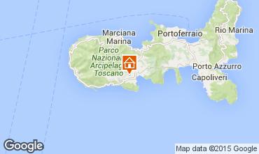Map Campo nell'Elba Villa 94186