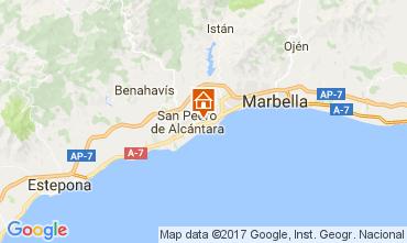 Map Marbella Villa 110903