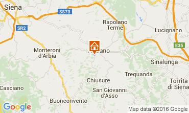 Map Siena Apartment 71873