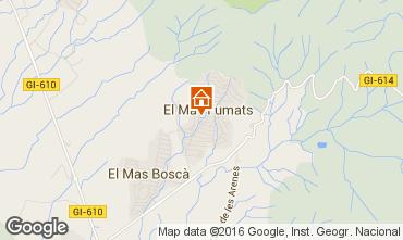 Map Rosas Villa 102783