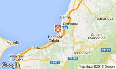Map Bagnara Calabra Apartment 53653