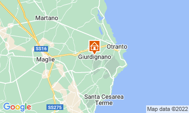 Map Otranto Apartment 115844