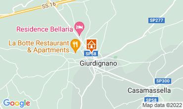 Map Otranto Apartment 115844