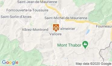 Map Valloire Chalet 38642