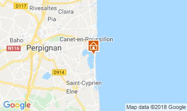 Map Canet-en-Roussillon Mobile home 116899