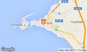 Map Gallipoli Apartment 68076