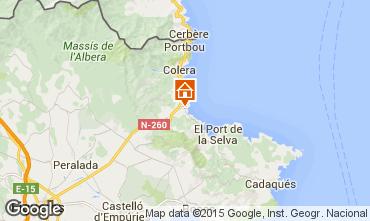 Map Llança Apartment 75093