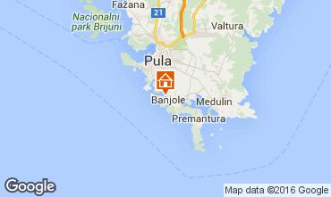 Map Pula Apartment 43074