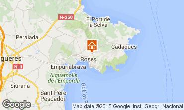 Map Rosas Apartment 83827