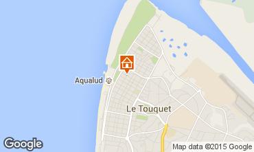 Map Le Touquet Apartment 7766