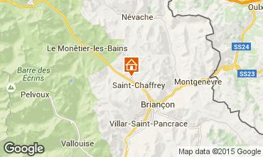 Map Serre Chevalier Apartment 40309