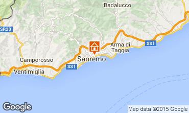 Map Sanremo Apartment 26342