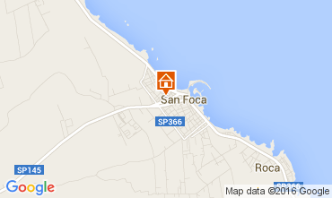 Map San Foca Apartment 103653