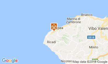 Map Tropea Apartment 114193