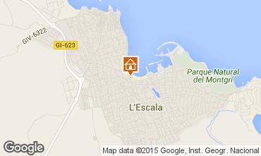 Map L'escala Apartment 69521