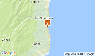 Map Solenzara Villa 112517