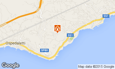 Map Sanremo Apartment 84648