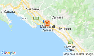 Map Marina di Carrara Apartment 99177