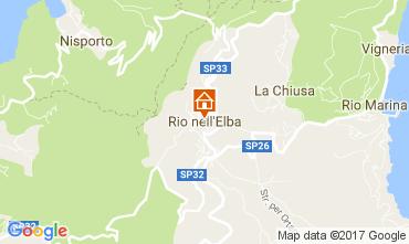 Map Rio nell'Elba Apartment 84392