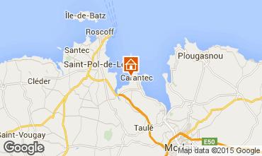 Map Carantec House 21362