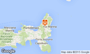 Map Rio nell'Elba One-room apartment 82855