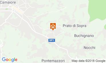 Map Camaiore Apartment 109017