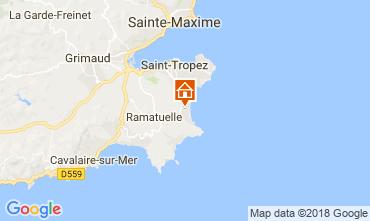 Map Ramatuelle Villa 114962