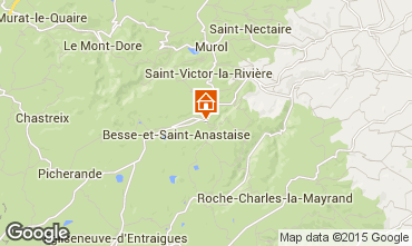 Map Besse - Super Besse Apartment 33472