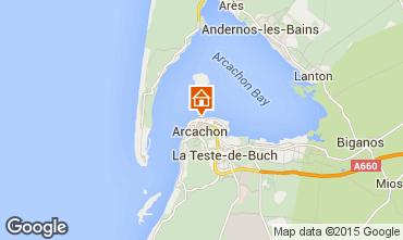 Map Arcachon One-room apartment 46236