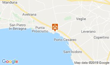 Map Porto Cesareo Apartment 71293
