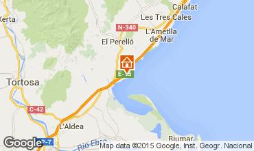 Map L'ampolla Villa 9907